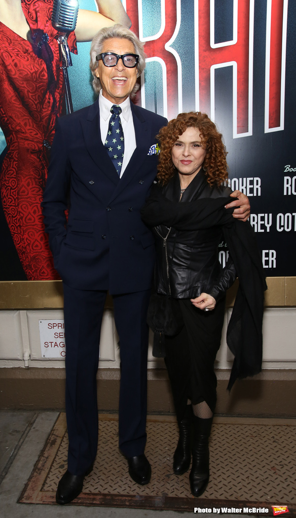 Tommy Tune and Bernadette Peters
