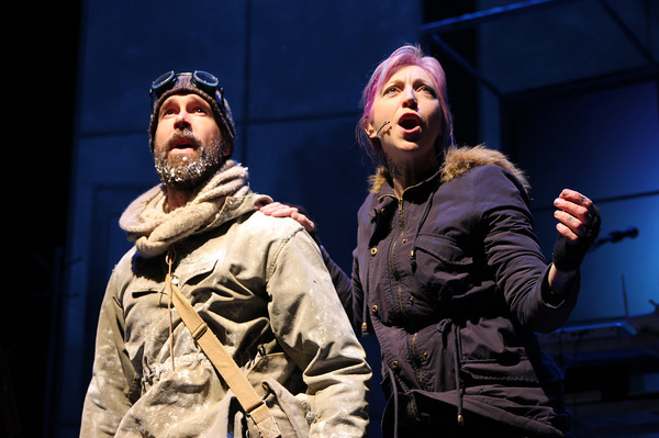 Photo Flash: First Look at Wade McCollum and Val Vigoda in ERNEST SHACKLETON LOVES ME Off-Broadway