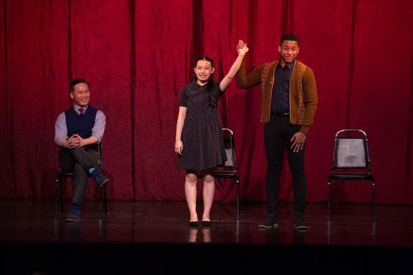 BD Wong, Lucy Lin and Malcolm Callender
