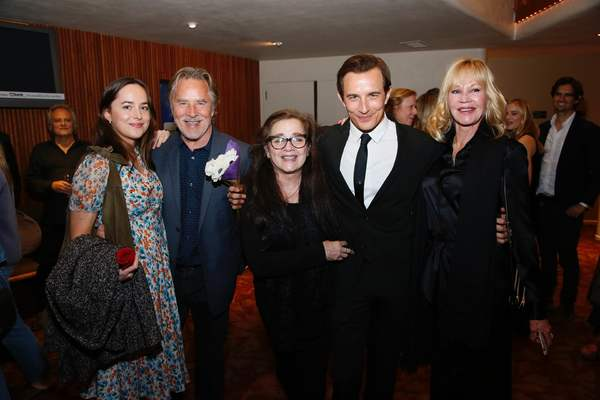 Jesse Johnson, Dakota Johnson, Don Johnson, Patti D'Arbanville, Jesse Johnson and Melanie Griffith.