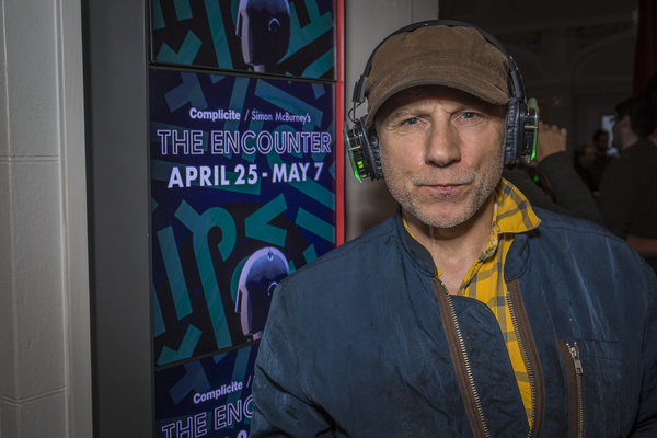 Photo Flash: Simon McBurney's THE ENCOUNTER Celebrates Opening at the Curran