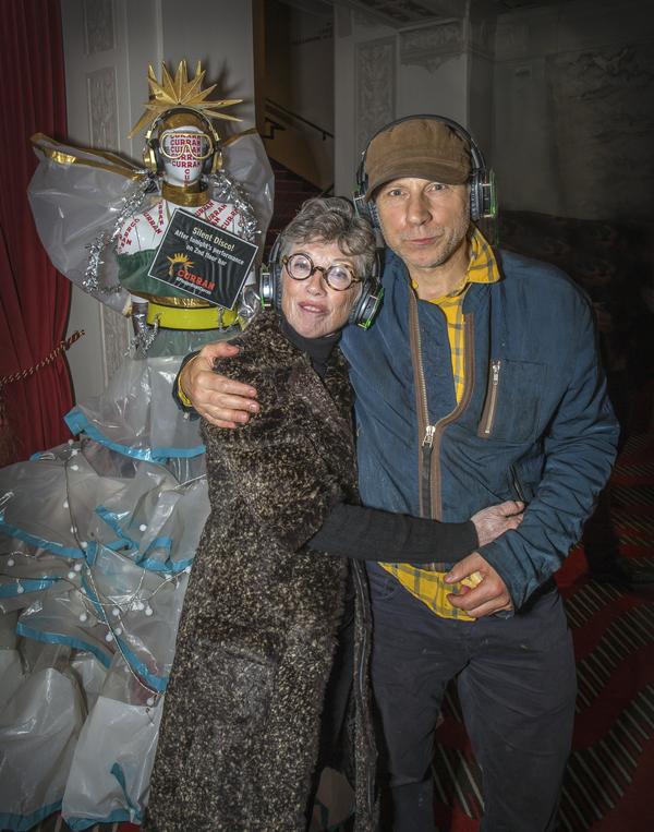 Carole Shorenstein Hays and Simon McBurney