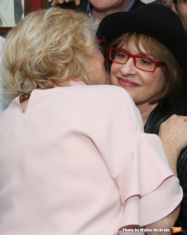 Christine Ebersole and Patti Lupone