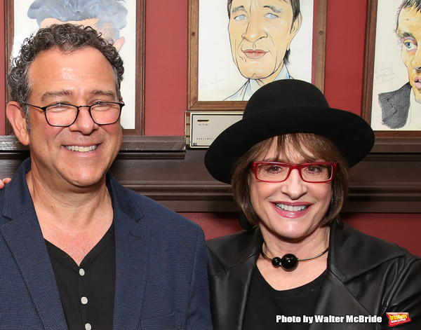 Michael Grief and Patti Lupone