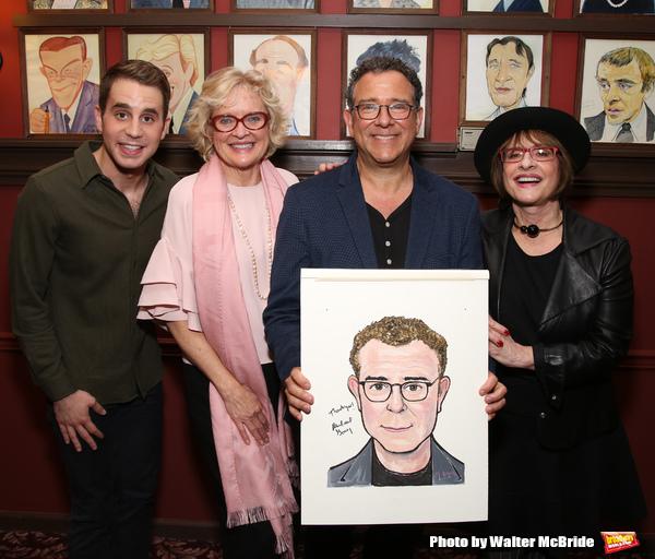 Michael Platt, Christine Ebersole, Michael Grief and Patti LuPone