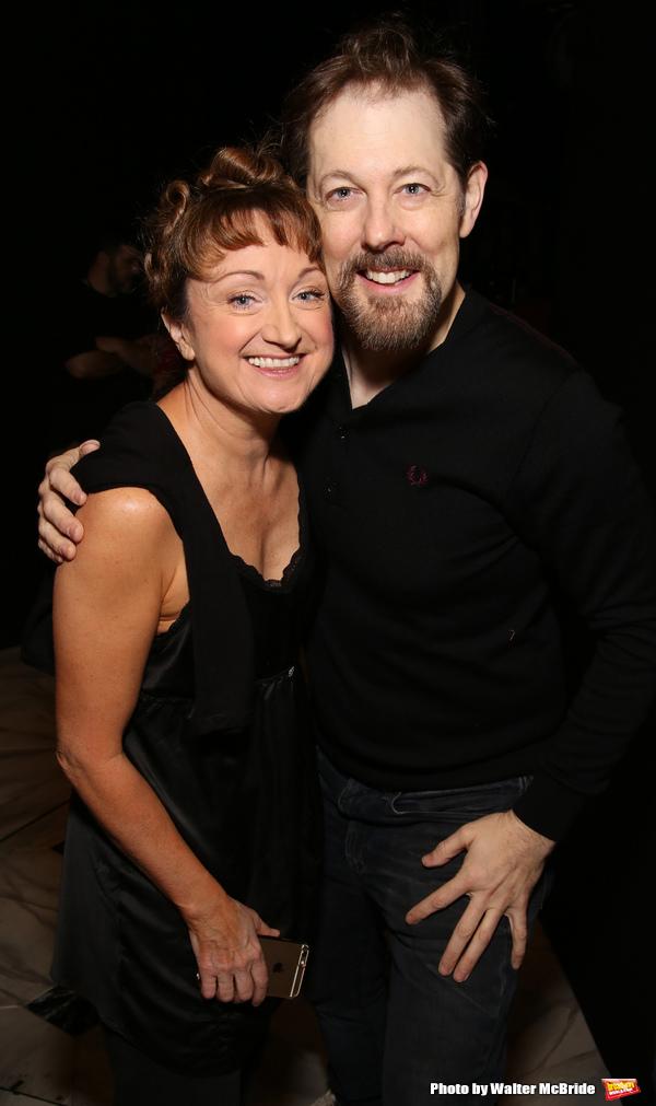Caroline O'Connor and Joghn Bolton