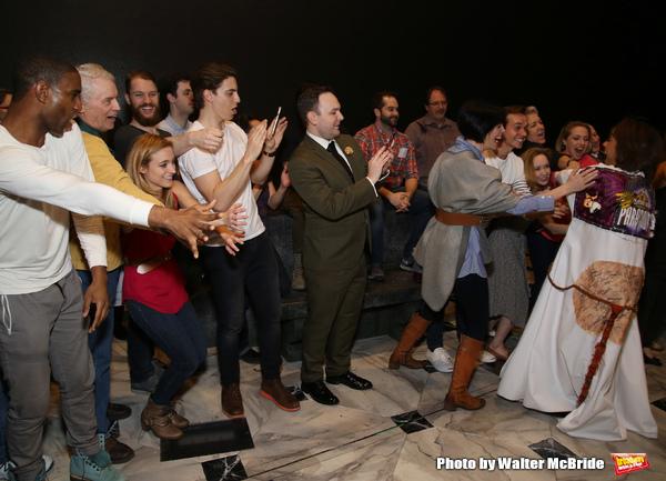 Exclusive Photo Coverage: Go Inside the ANASTASIA Gypsy Robe Ceremony