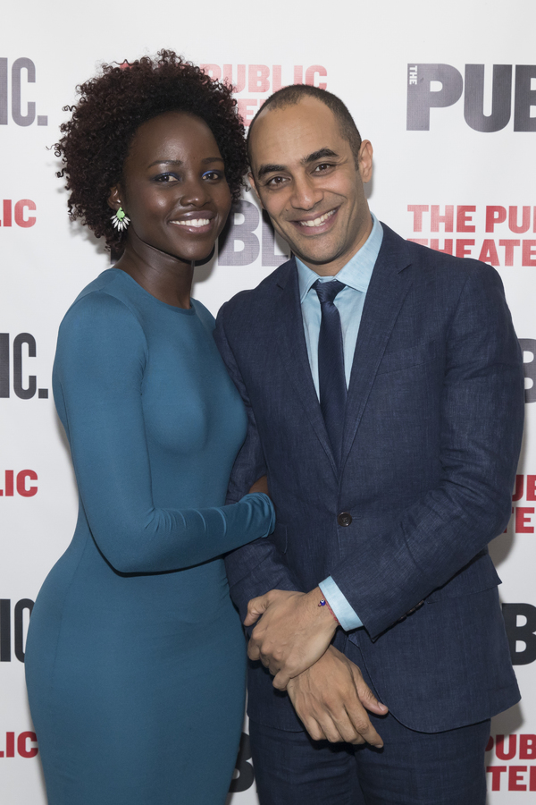 Lupita Nyong'o and Saheem Ali Photo