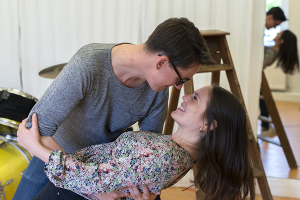Photo Exclusive: In Rehearsal for PAPER HEARTS at Upstairs at the Gatehouse