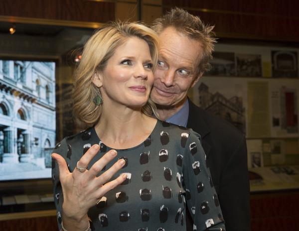 Kelli O'Hara and Bill Irwin