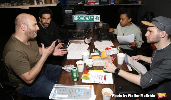 Gio Messale, Benim Foster, Dominique Spooner and Julian Dankner  Photo