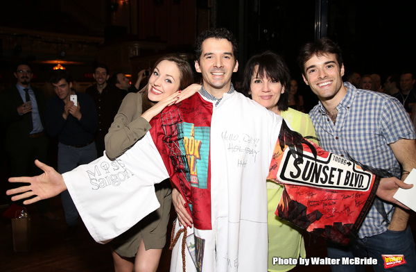 Laura Osnes, Kevin Worley, Beth Leavel and Corey Cott Photo