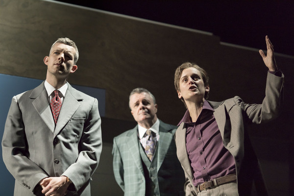 Russell Tovey, Nathan Lane and Denise Gough