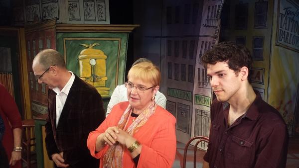 Dan Martin, Lidia Bastianich, David Spadora