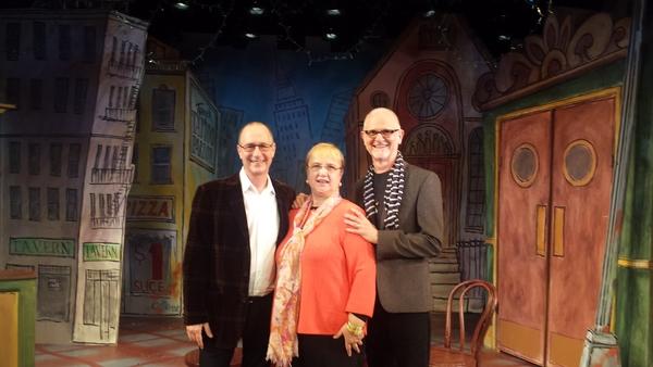 Dan Martin, Lidia Bastianich, Michael Biello