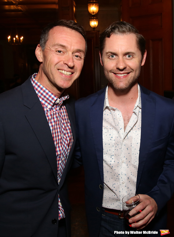 Andrew Lippa and Michael McCorry Rose