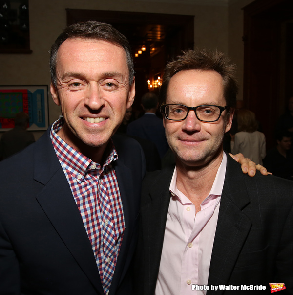 Andrew Lippa and Michael Riedel