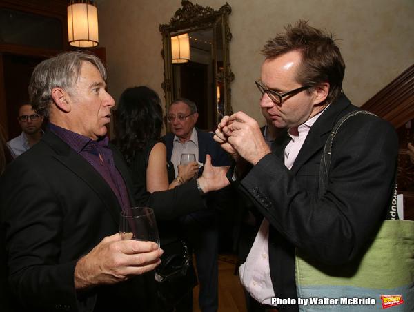 Stephen Schwartz and Michael Riedel