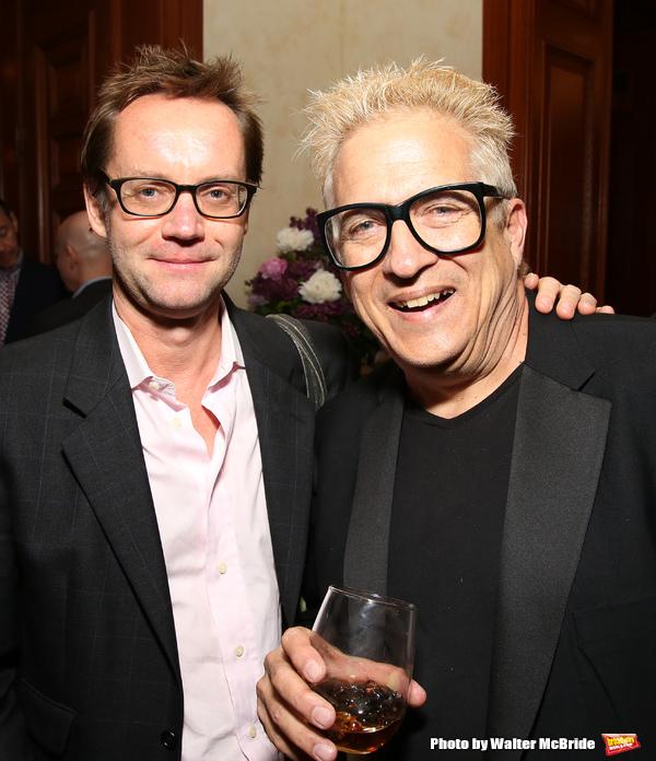 Michael Riedel and Ken Fallin