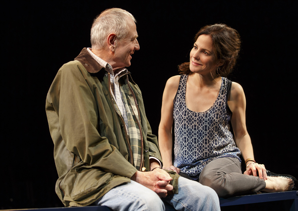 Denis Arndt and Mary-Louise Parker