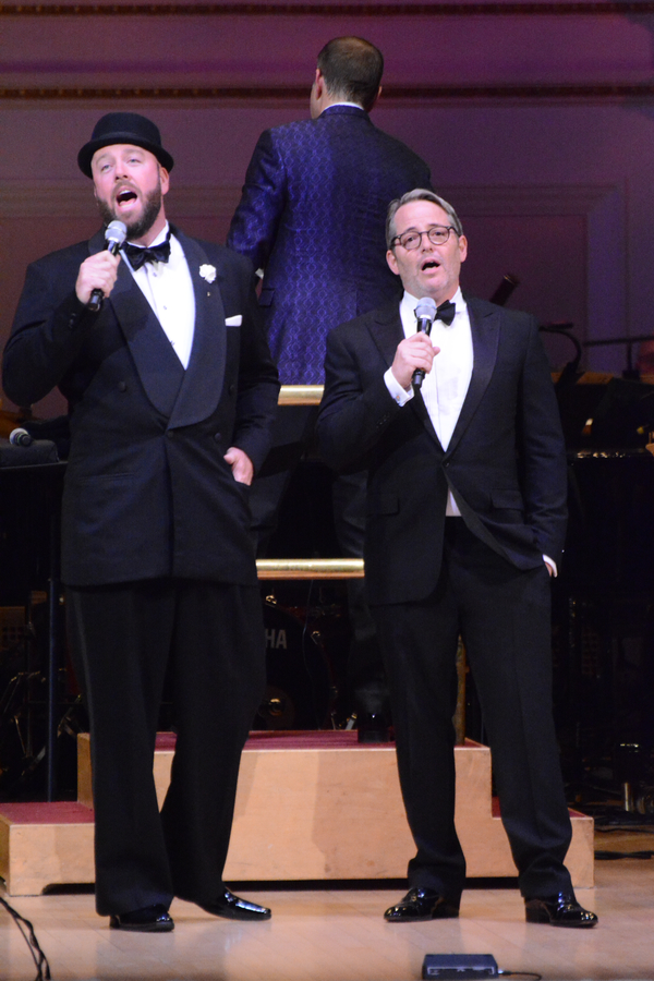 Chris Sullivan and Matthew Broderick