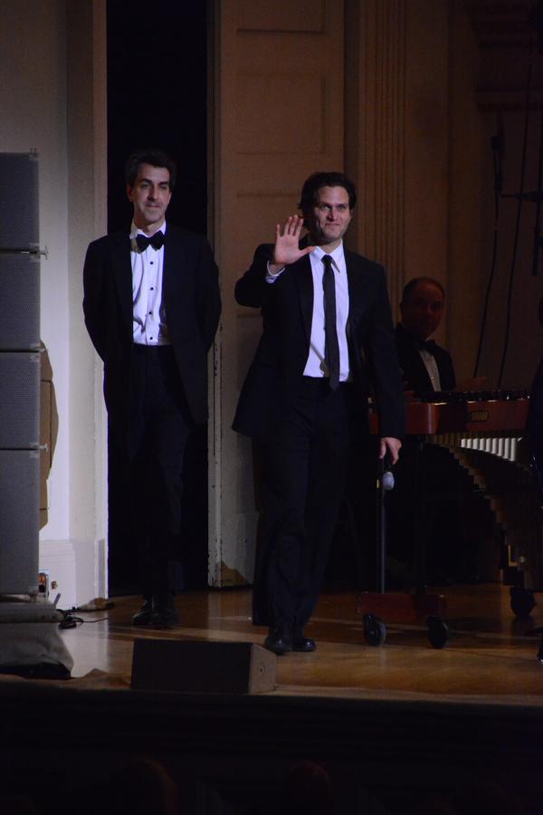 Jason Robert Brown and Steven Pasquale