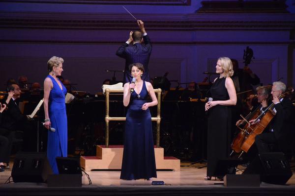 Marin Mazzie, Judy Kuhn and Rebecca Luker