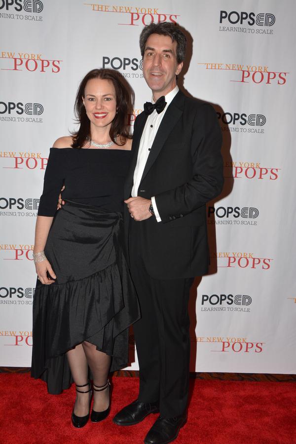 Georgia Stitt and Jason Robert Brown