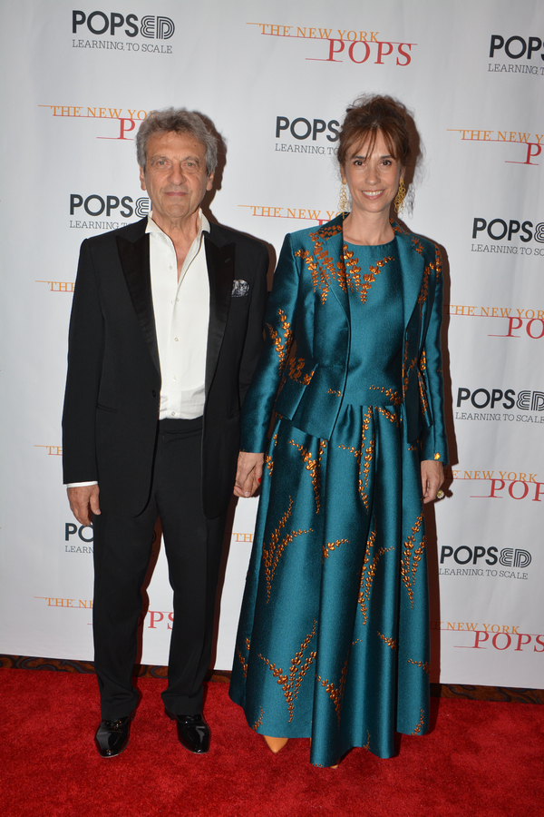 Alain Boublil and Maria Zamora Photo