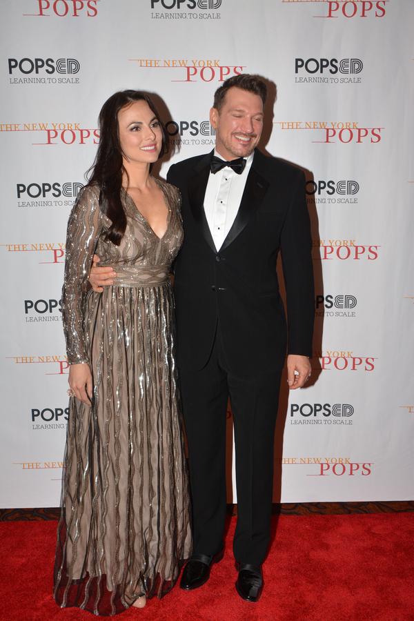 Isabel Leonard and Paulo Szot