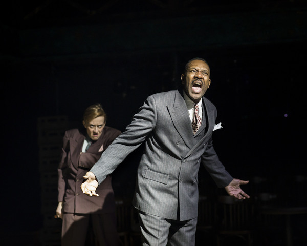 Lenny Henry and Lucy Ellinson