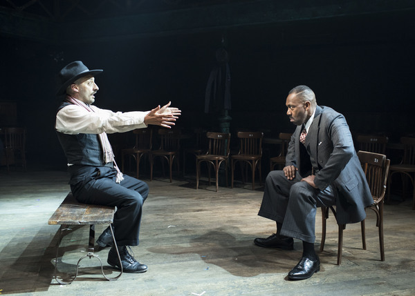 Photo Flash: First Look at Lenny Henry in THE RESISTIBLE RISE OF ARTURO UI at Donmar Warehouse