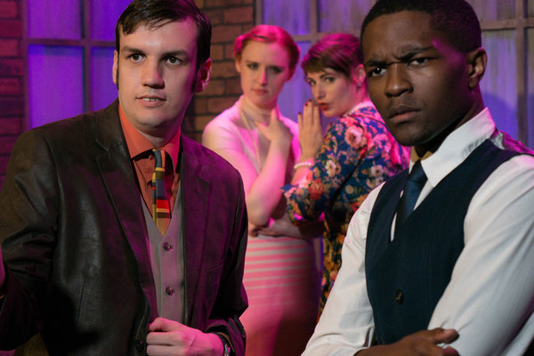 Photo Flash: Sneak Peek - CLUED IN: AN IMPROVISED MURDER MYSTERY Returns to Judy's Beat Lounge This June