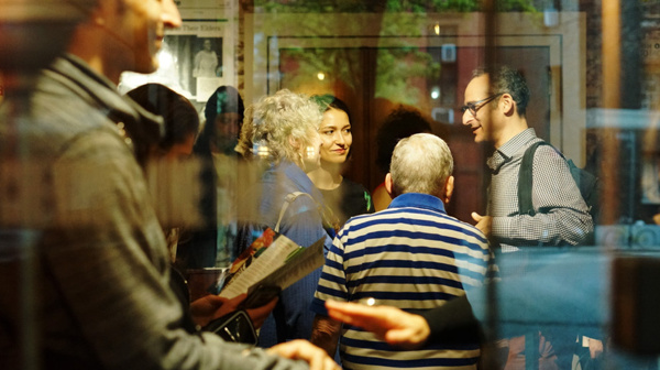 In Scena! Opening Night celebrating Mario Fratti at Cherry Lane Theatre. Photo by Nando Tampubolon