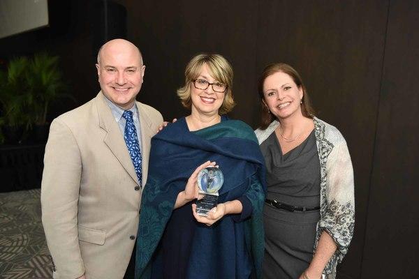 Michael Webber, Rachel Rockwell and Jeannie Lukow Photo