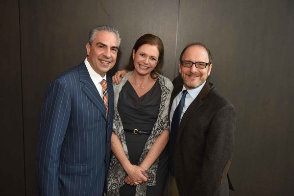 Paul Lisnek, Jeannie Lukow and Lonny Price Photo