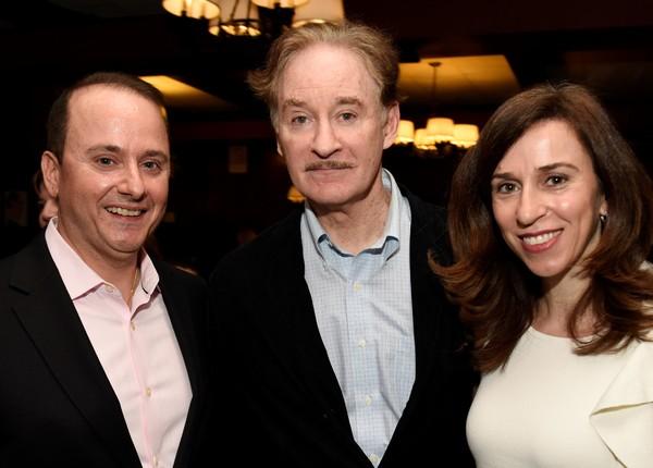 Kevin Kline with Nick and Voula Katsoris