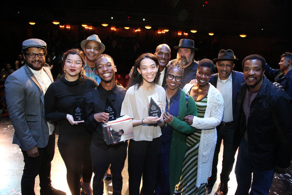 The winners and judges from the 9th Annual August Wilson Monologue Competition