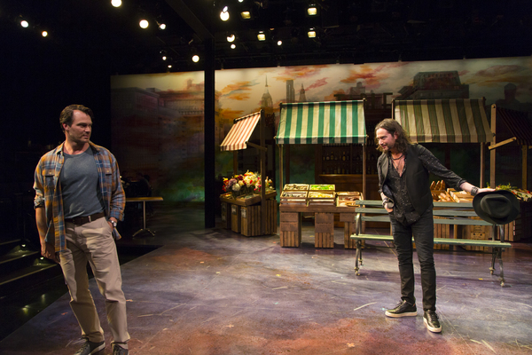 Photo Flash: First Look at Matt Bogart, Constantine Maroulis and More in THE MOST BEAUTIFUL ROOM IN NEW YORK at Long Wharf