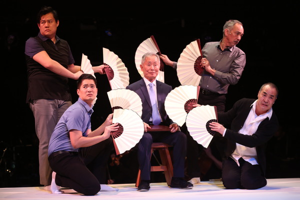 Photo Flash: First Look at George Takei and More in PACIFIC OVERTURES at Classic Stage