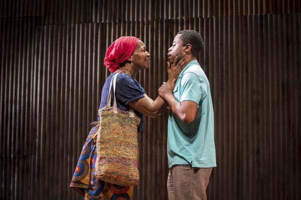 Lily Mojekwu and Daniel Kyri
