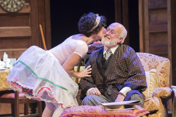 Photo Flash: Lessons Amid Laughter! First Look at YOU CAN'T TAKE IT WITH YOU at A.D. Players