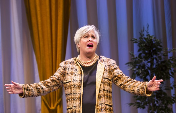 Photo Flash: First Look at Nancy Opel and More in CURVY WIDOW at George Street Playhouse