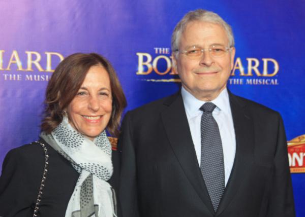 Lawrence Kasdan & wife Meg
