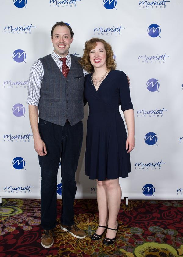 Alex Goodrich and Elizabeth Telford