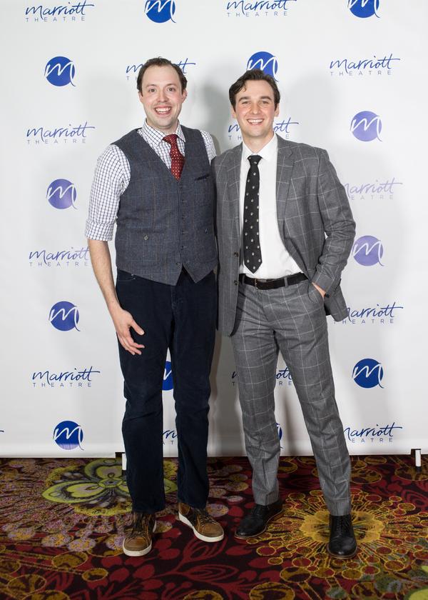 Alex Goodrich and Brandon Springman