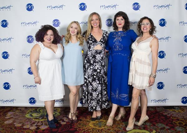Lillian Castillo, Laura Savage, Allison Sill, Cassie Slater, and Johanna McKenzie Miller