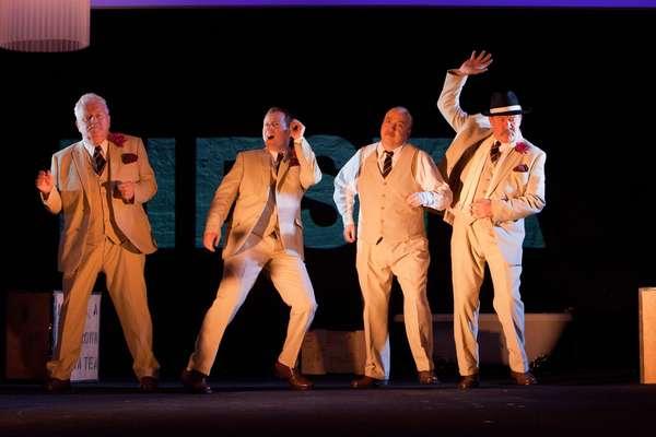 Ian Redford, Euan Somers, Tony Cownie, and Joshua Richards Photo