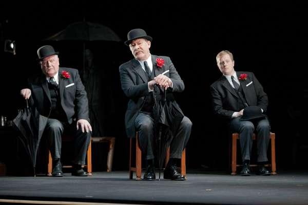 Ian Redford, Joshua Richards, and Euan Somers  Photo