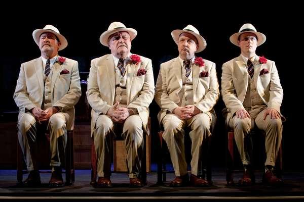 Joshua Richards, Ian Redford, Tony Cownie, and Euan Somers  Photo